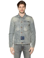 Nudie Jeans Patches Cotton Denim Jacket