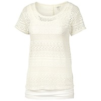 Fat Face Lace Shell Top Ivory