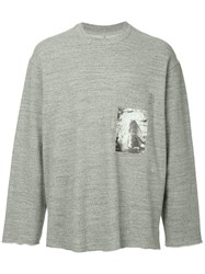 Song For The Mute Long Sleeved Sweatshirt Grey