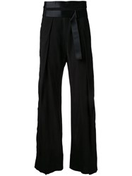 Ann Demeulemeester Novice Trousers Black