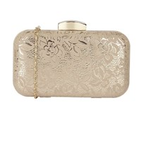 Lotus Puffin Matching Clutch Bag Nude