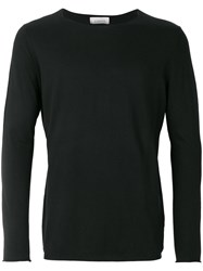 Laneus Slim Fit Jumper Black