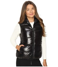 Duvetica Febe Quilted Down Vest All Black