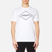 Carhartt Men's Short Sleeve Diamond T Shirt White Navy