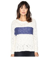 Roxy Victory Dance Pullover Pristine Women's Long Sleeve Pullover Neutral