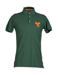 Bronzaji Topwear Polo Shirts Men Green