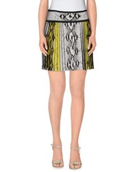 Roberto Cavalli Skirts Mini Skirts Women Light Grey