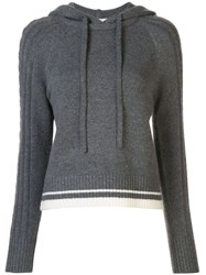 Duffy Knitted Cashmere Hooded Jumper 60
