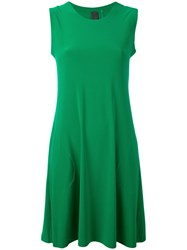 Norma Kamali Sleeveless Swing Dress Women Polyester Spandex Elastane S Green