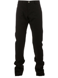 Individual Sentiments Straight Leg Trouser Black
