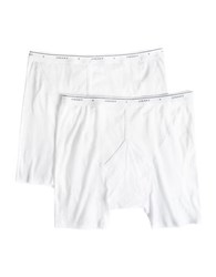 Jockey Big And Tall 2 Pack Stay New Midway Cotton Briefs White