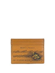 Etro Sheet Music Cardholder Brown