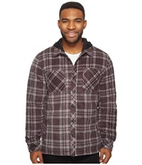O'neill Glacier Quilted Long Sleeve Woven Asphalt Men's Clothing Black