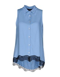 Cafe'noir Cafenoir Shirts Sky Blue