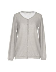 Almeria Cardigans Light Grey