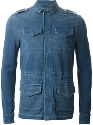 Hydrogen Denim Field Jacket Blue