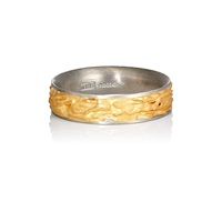 Malcolm Betts Platinum And Gold Band