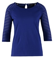 Dorothy Perkins Long Sleeved Top Blue