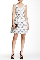Romeo And Juliet Couture Sleeveless Polka Dot A Line Dress Multi