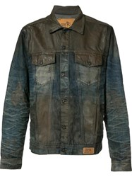 Prps Chest Pockets Denim Jacket Blue