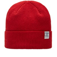 Barbour Lambswool Beanie Red