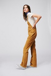 Free People Womens Movin Away Cord Overall