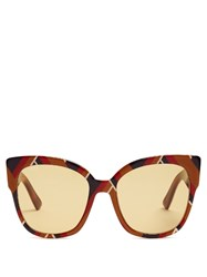 Gucci Oversized Square Frame Sunglasses