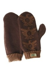 Australia Luxe Collective Knit Gloves Brown
