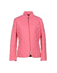 Husky Synthetic Down Jackets Pink