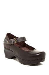 Sanita Daisy Denice Mary Jane Pump Brown