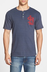 Red Jacket 'St. Louis Cardinals Luther' Henley Navy