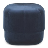 Normann Copenhagen Circus Pouf Small Dark Blue