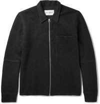 Our Legacy Slim Fit Boucle Blouson Jacket Black