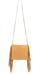 Ash Tyler Cross Body Clutch Nude