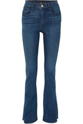 3X1 High Rise Flared Jeans Blue