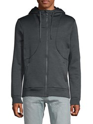 Mpg Advantage Zip Hoodie Heather Grey