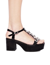 Pixie Market Jeffrey Campbell Yasmine Chain Sandals