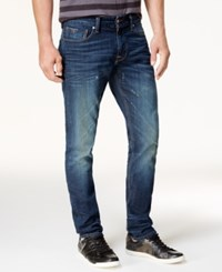 Guess Men's Slim Tapered Stretch Jeans Village Wash