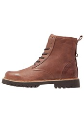 Shoe The Bear Walker Laceup Boots Brown