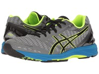 Asics Gel Ds Trainer 22 Carbon Black Safety Yellow Men's Running Shoes Gray