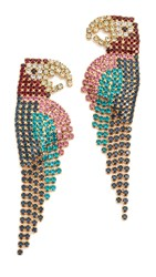 Elizabeth Cole Macaw Earrings Multi
