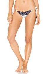 Blue Life Boho Side Tie Bottom Beige