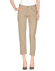 Two Women In The World Casual Pants Beige