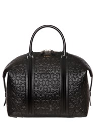 Givenchy Star And Logo Embossed Leather Duffle Bag