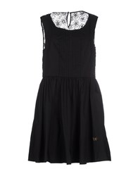 Atelier Fixdesign Dresses Short Dresses Women Black