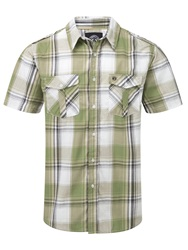 Tog 24 Altus Check Short Sleeve Shirt Khaki