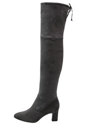 Peter Kaiser Aemie Overtheknee Boots Carbon Anthracite
