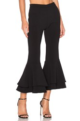 Backstage X Revolve Supafly Crop Double Ruffle Pant Black