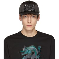 Kenzo Black Limited Edition Holiday Tiger Cap