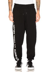 Off White Virgil Abloh Pants In Black